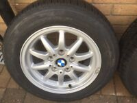 BMW classic alloy wheels brand new condition