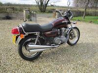 Classic Honda CB750K, 1979.