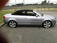 Audi A4 3.0 TDI Sline convertible. 2007 registered.