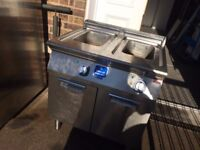 FRYER, FLOOR MODEL, ELECTRIC, DOUBLE WELL Model No. 371082 E7FREH2GF0 700XP