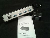 VGA 4 WAY VIDEO SPLITER (NEW)