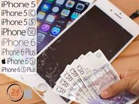 I BUY - Iphone 5, 5C, 5S, SE, 6, 6 Plus, 6S, 6S Plus. CRACKED Screens
