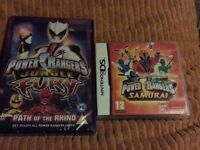 Power rangers DVD and ds game