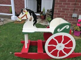Vintage Rocking Horse in time for Christmas!