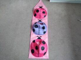 Ladybird wall hanging