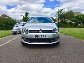 2011 VOLKSWAGEN POLO 1.2   5 Doors   Very Low 32700 Miles   1 Year New MOT   VW POLO 2011 Silver