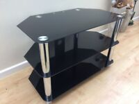 """TV glass stand - supports up to 45"""" TV"""