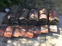 Ridge and roof tiles