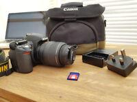Nikon D3100 Digital SLR Camera with 18-55mm lens