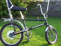 WANTED VINTAGE BICYCLES RALEIGH CHOPPERS, BURNERS, GRIFTERS,BOMBERS ANYTHING INTERESTING CONSIDERED