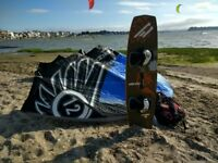 Cabrinha 12m X-Bow kite, Dakine Harness & Cabrinha Prodigy Twin tip board