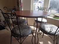 Dinning table with chairs 4 seater
