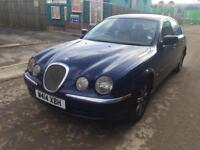 2000 JAGUAR S-TYPE 3.0 V6 AUTOMATIC 1 FORMER OWNER FULL SERVICE HISTORY FULLY LOADED