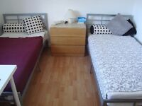 Lovely Twin Room -ROEHAMPTON- (NO Fees-ALL Inc.)