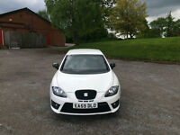 FOR SALE | 2009 (59) Seat Leon Cupra TFSI 240Bhp, White. Available May 2017