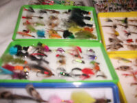 fishing flys 50 in a box
