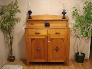 Antique Primitive Sideboard