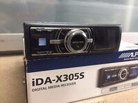 Alpine iDA-X305S Bluetooth Media Receiver ipod USB