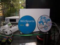 Nintendo Wii with Wii sports/Mario Kart