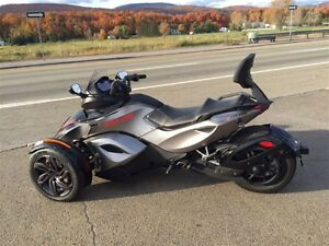 2013 can-am spyder RS-S Semi-Automatique