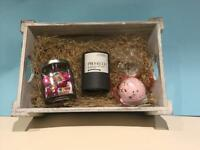 Mother's Day hamper with vineyard candle