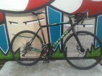 New Carrera Vanquish Disc Mens Road Bike - Black -54cm - RRP £495