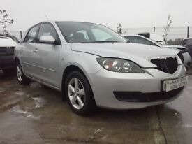 **FOR BREAKING** 2007 Mazda 3 1.6 petrol.
