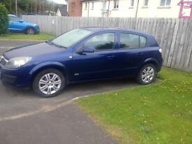 Vauxhall Astra with 12 months MOT