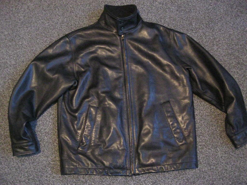 892f212e222 mens timberland weathergear leather jacket black medium | in ...