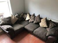 Corner sofa from dfs