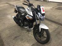 Sinnis rs 125 motorbike damaged