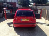 1.1L Hyundai Getz. New timing belt. New clutch. new drivers