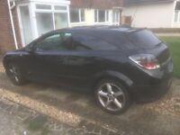 Vauxhall Astra 1.9 SIR black 2006, 3 door, diesel car, 117,000 miles