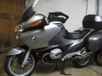 Bmw r1200rt, New M.o.t.