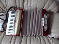 worldmaster (weltmeister) accordion 120 bass 8 registers. made in Germany REDUCED PRICE