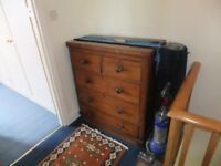 Victorian chest of drawers / ( vintage / retro / shabby chic )