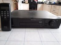 Sony VHS Video plus player with control