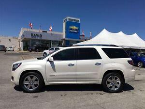 2014 GMC Acadia Denali AWD 5DR, SUNROOF, NAVIGATION, LOCAL TRD.!