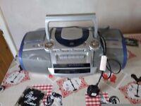 Cd radio cassette