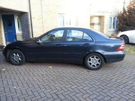 Mercedes C200, Automatic, Low Mileage, Full Service History, Valid MOT £1250