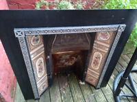 Cast Iron Fireplace and Surround. Open to offers