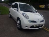 2009 nissan micra 1.2 only39000m service history ideal first car with power steering part x welcome