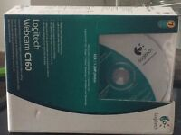 Logitech Webcam C160 excellent condition with box, instructions and software