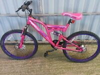 A Dunlop Sports Double Disk Pink Bike/Bicycles for sale