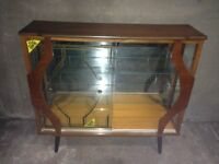 Retro Display Cabinet In good condition for the age