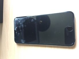 iPhone 6 16gb space grey cracked screen