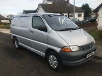Toyota Hiace 2005 12 months mot 2 owners