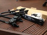 Kayak roof bar attachments