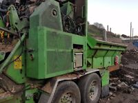 1995 Willibald MZA 3500 High Speed Waste/Wood Shredder