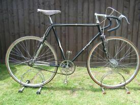 """VINTAGE JACK TAYLOR BICYCLE BIKE FRAME NUMBER 549 23"""" 59 CM OLDEST IN THE WORLD"""